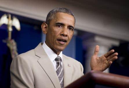 Le président américain a salué «un important pas en avant» pour répondre à «la menace posée par le groupe terroriste connu sous le nom d'EI».<br />
