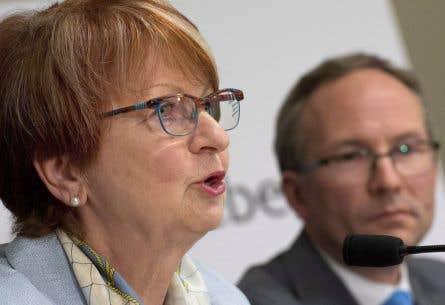 Lucienne Robillard ne se formalise pas du fait que le gouvernement ne suive pas les recommandations de sa commission.