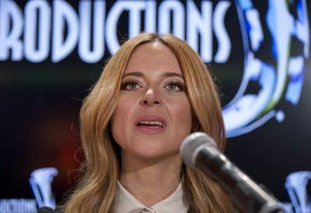 «Tout découle de ma situation conjugale», a laissé tomber Julie Snyder en conférence de presse lundi.