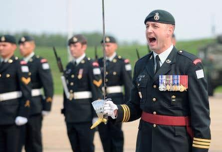 Le lieutenant-colonel Mason Stalker était responsable d'un régiment à Edmonton.