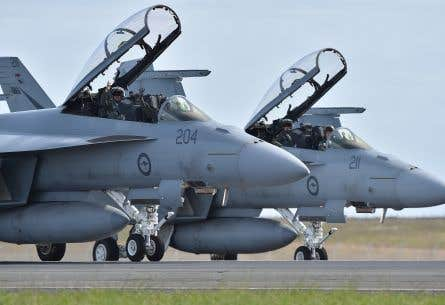 D'ici 2025, Ottawa comptera sur 18 appareils F-18 qu'il achètera au gouvernement australien.