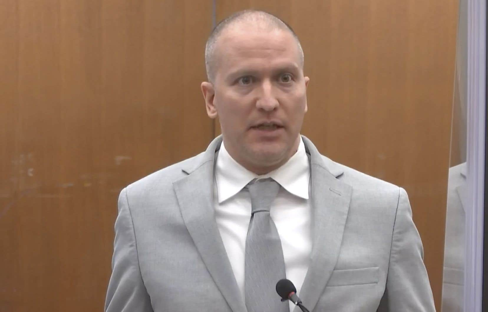 Derek Chauvin purge une peine de 22ans et demi de prison pour avoir étouffé George Floyd lors de son arrestation.
