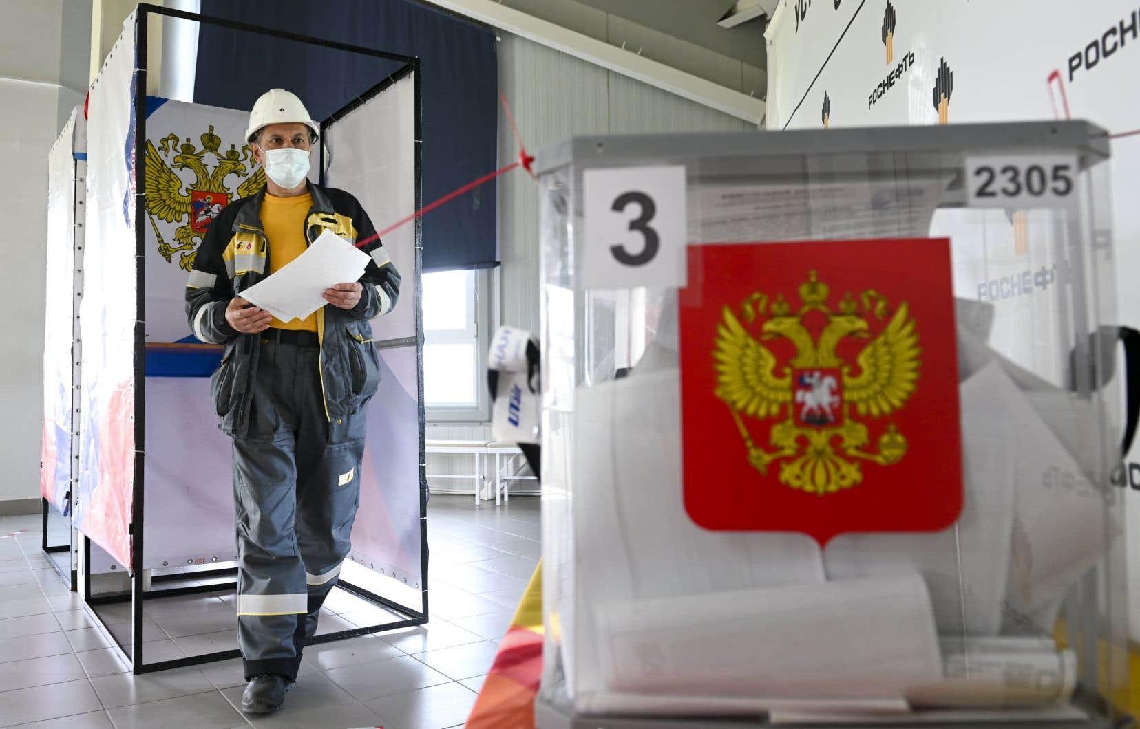 Le marathon électoral russe de trois jours comprend des législatives, mais aussi des dizaines d'élections régionales et locales.