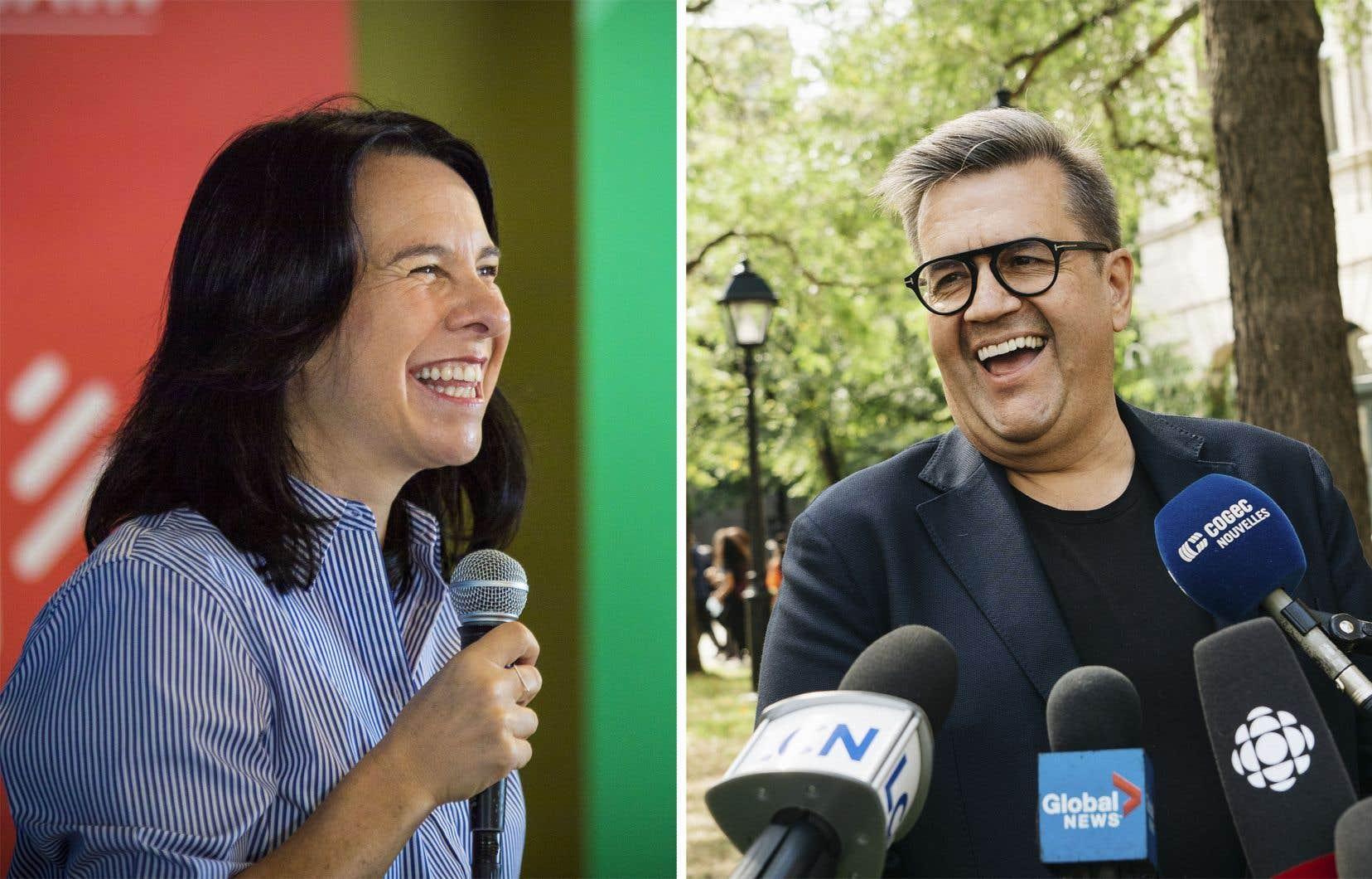 Valérie Plante et Denis Coderre croisent de nouveau le fer dans une nouvelle bataille électorale.