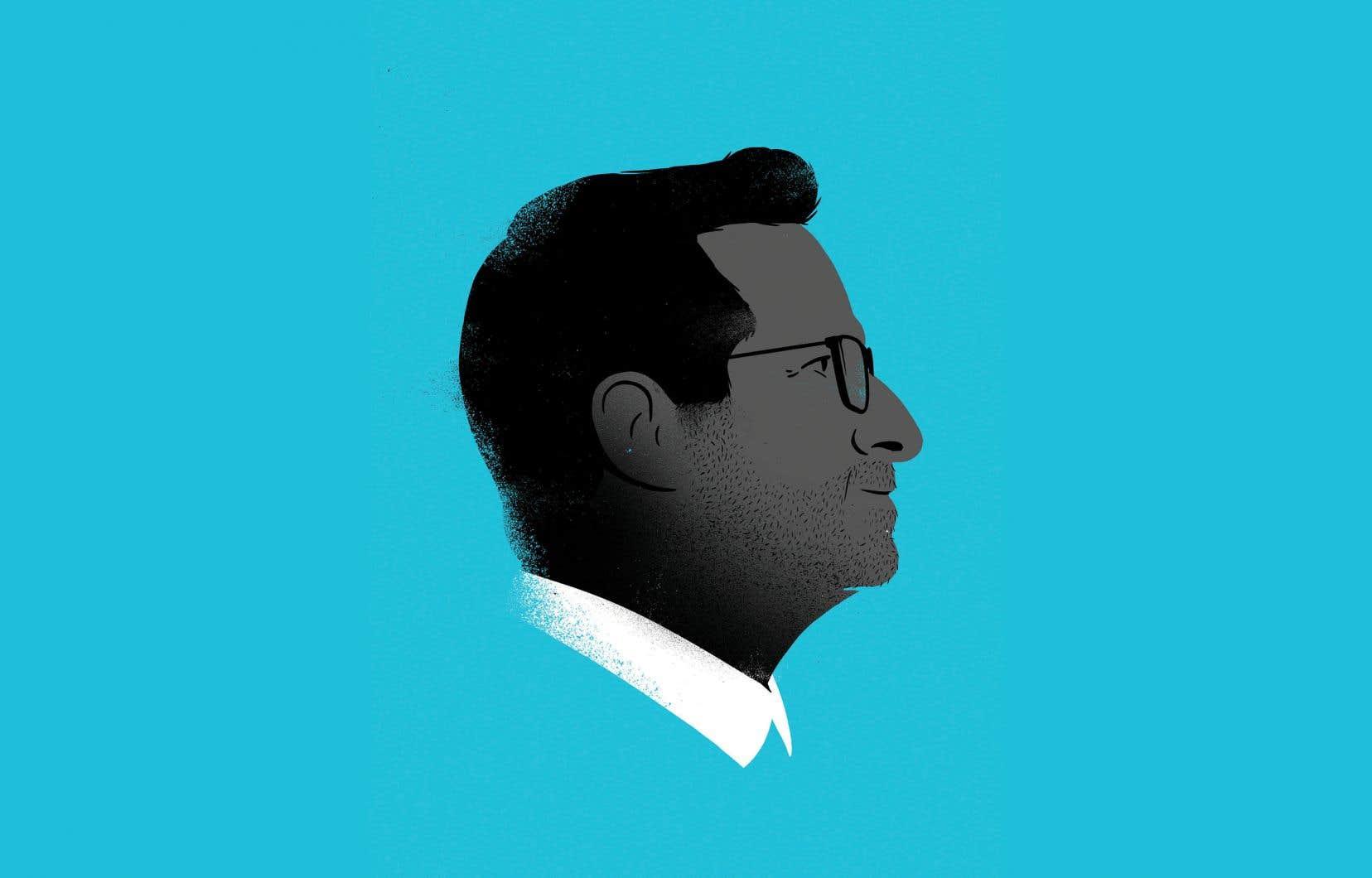 Le candidat du Bloc Québécois, Yves-François Blanchet