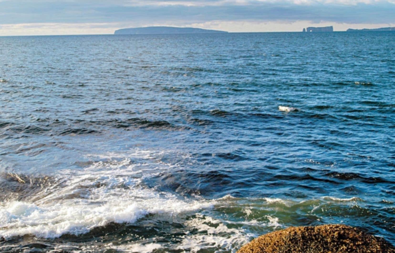 La Gaspésie fait partie du vaste territoire marin où des projets pétroliers ou gaziers pourraient être entrepris.<br />