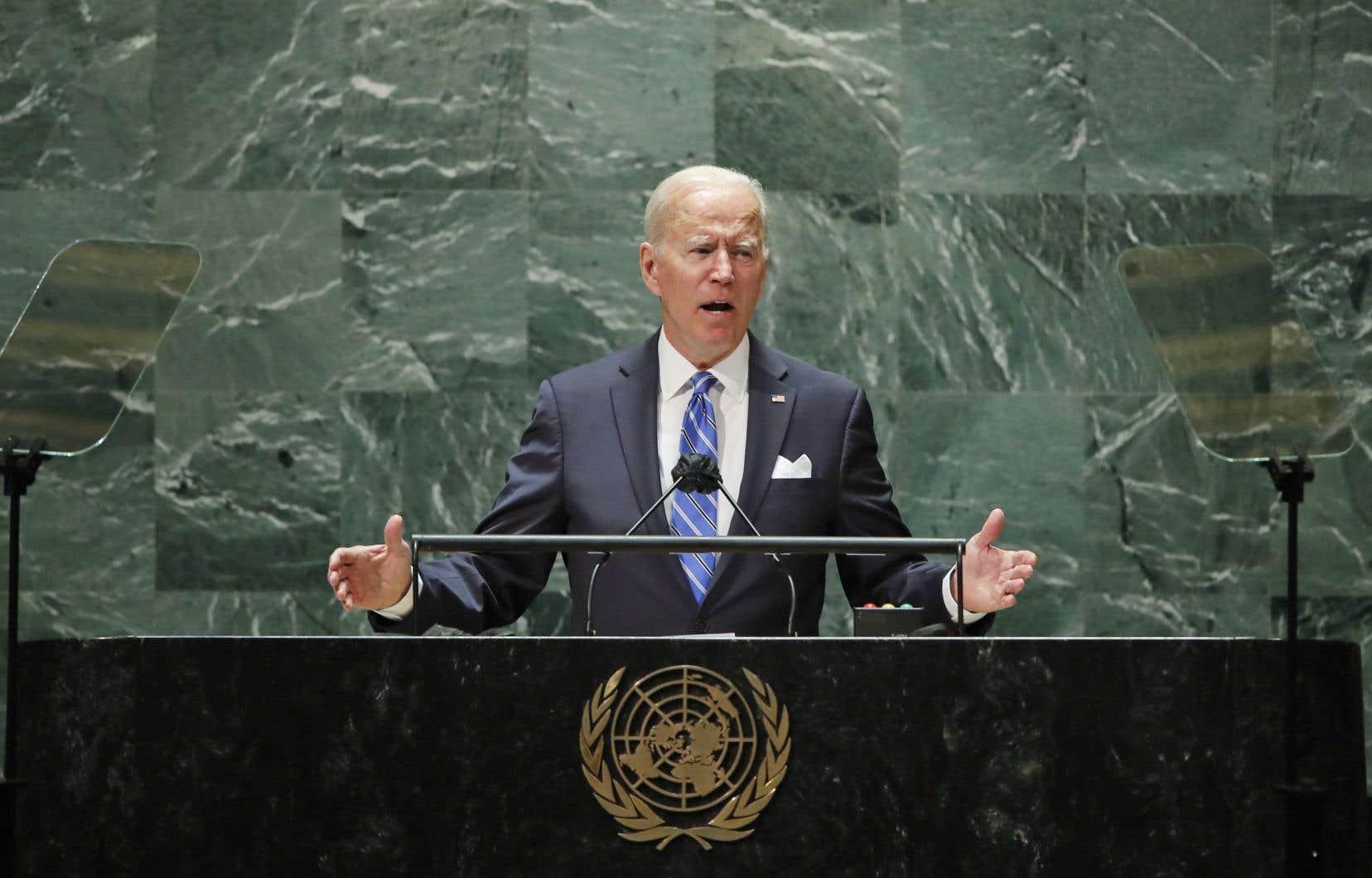 Au sortir de plusieurs semaines difficiles sur le front diplomatique autant que sur celui des affaires internes dans son pays, JoeBiden a livré mardi un discours attendu à la tribune de l'ONU, par lequel l'occupant de la Maison-Blanche a tenté de restaurer la crédibilité internationale des États-Unis.