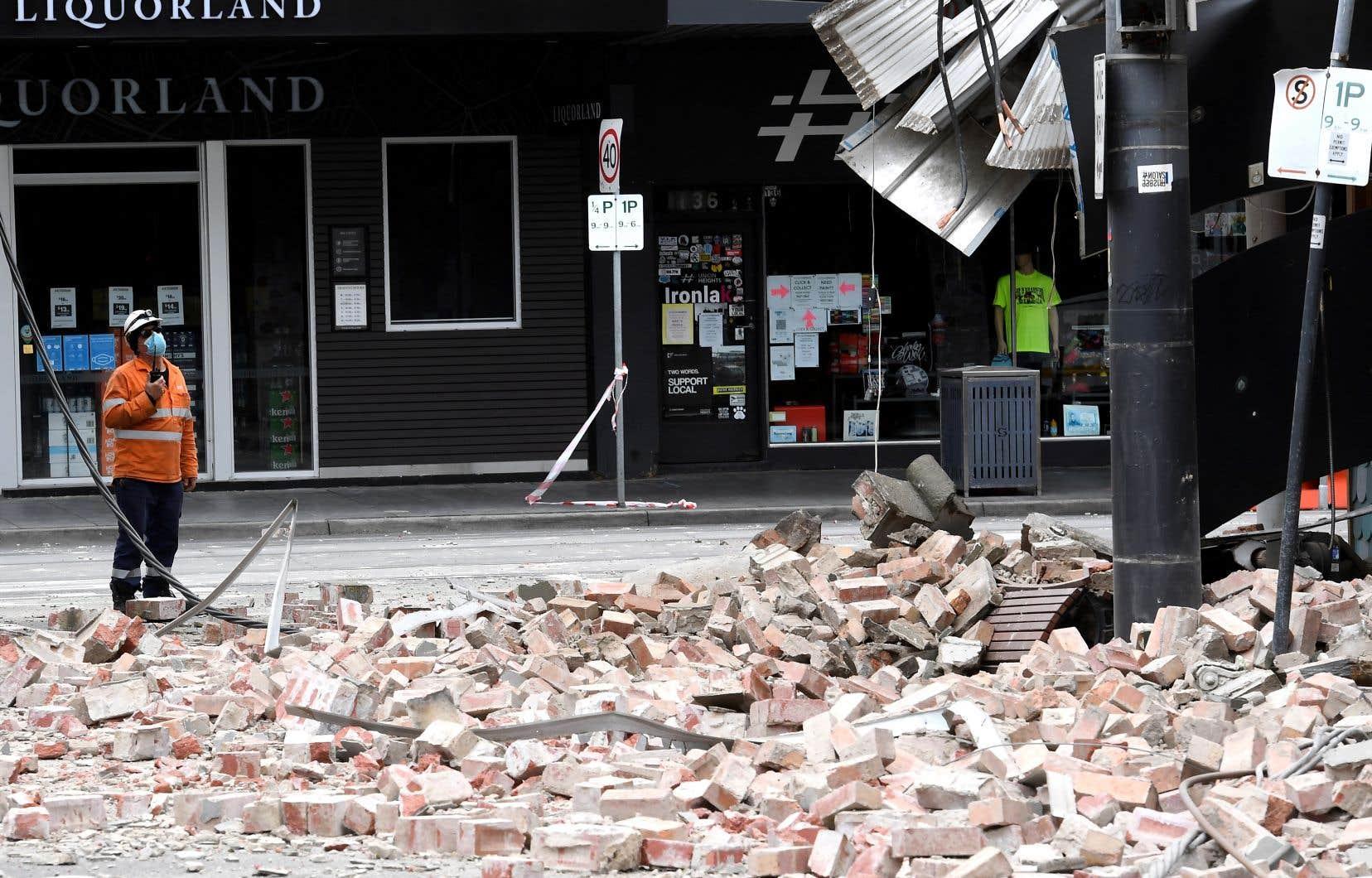 Un rare séisme sème la panique à Melbourne