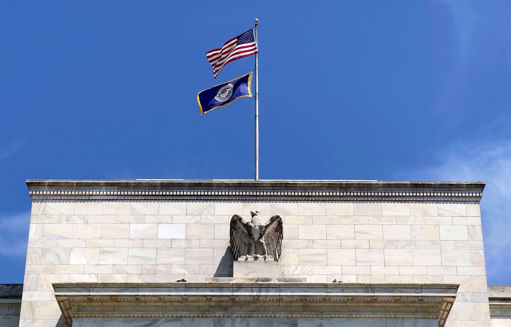 La Réserve fédérale américaine n'était pas encore prête, mercredi, à commencer la réduction de ses mesures de stimulation.