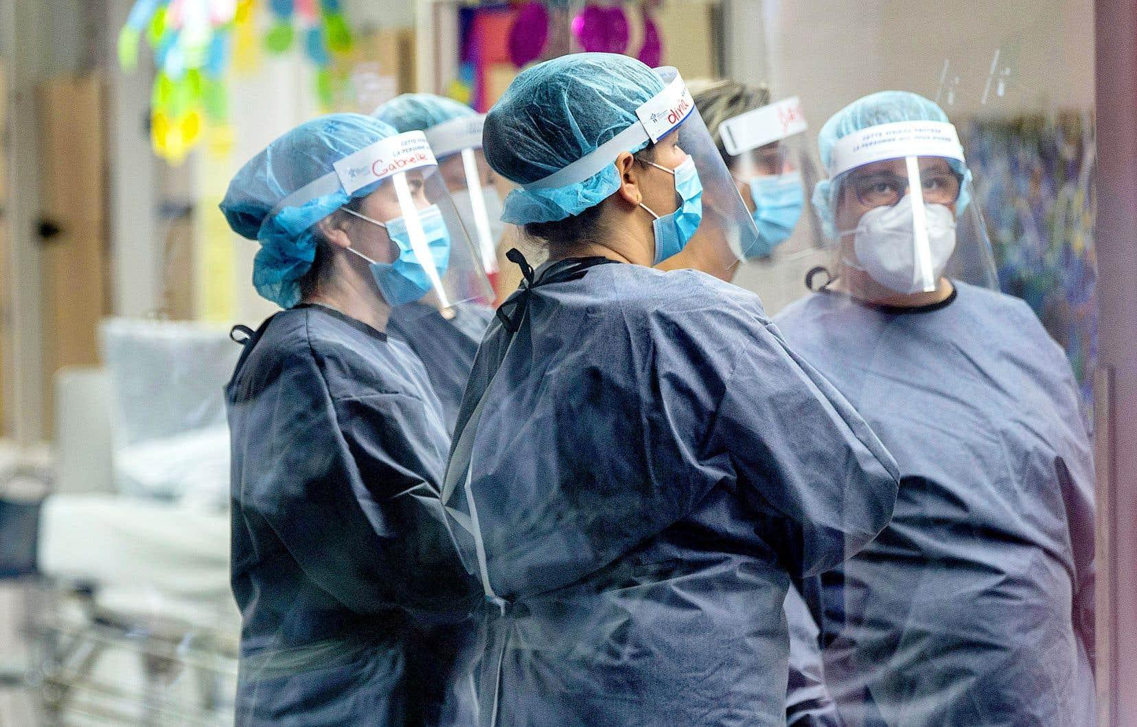 Le président de l'Ordre des infirmières et infirmiers du Québec a dit juger que l'objectif du ministre d'embaucher 4000 infirmières est «un méchant défi».