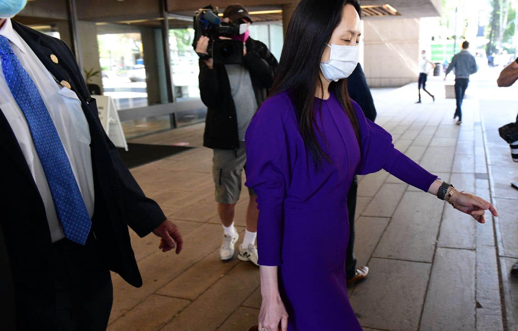 Meng Wanzhou, 49ans, fille du fondateur du mastodonte des télécoms, avait été arrêtée le 1erdécembre 2018 à l'aéroport de Vancouver à la demande de Washington, qui veut la juger pour fraude bancaire.