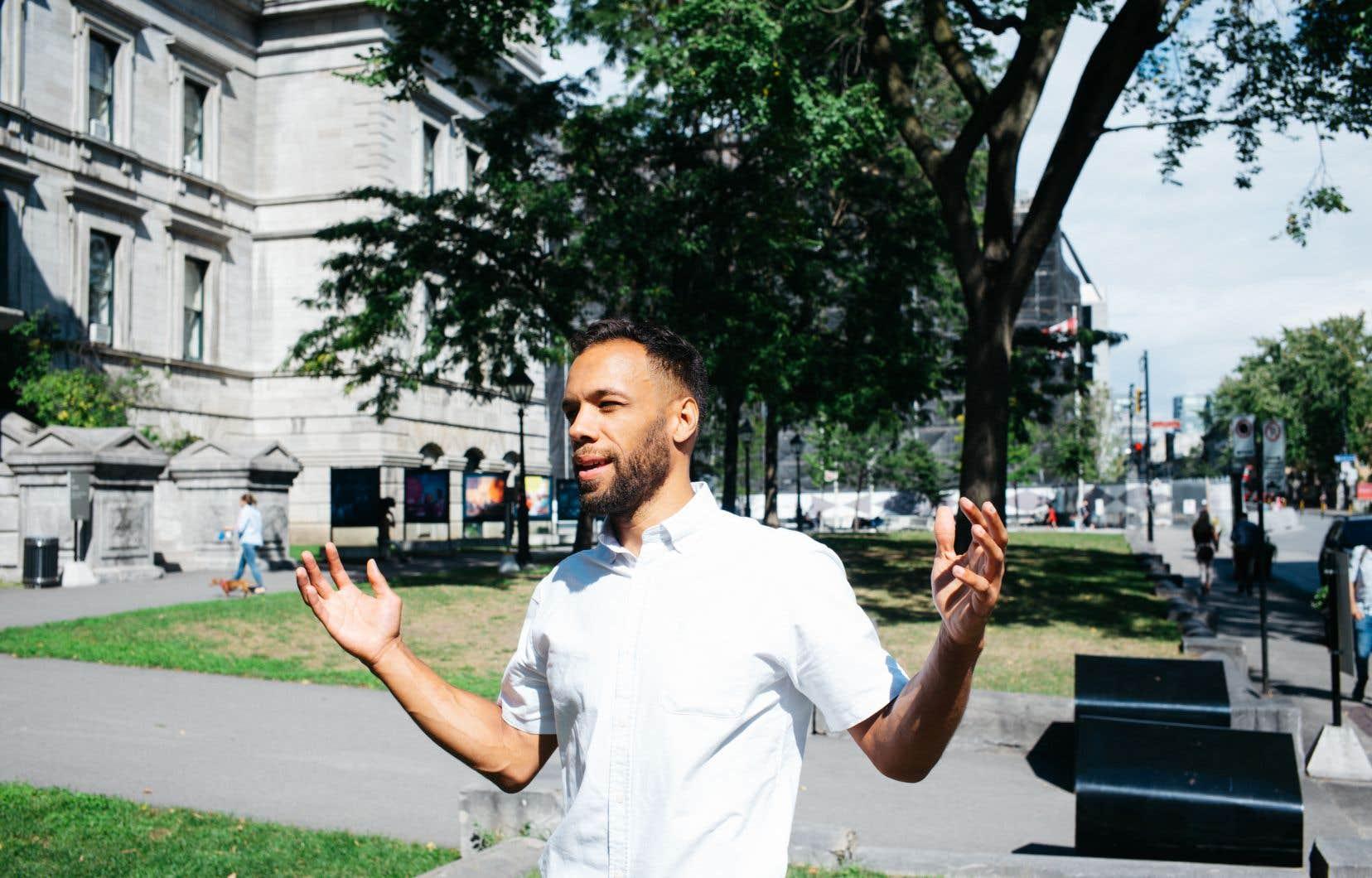 Balarama Holness, qui dirige Mouvement Montréal, estime que Tourisme Montréal a «réduit au silence une pluralité de perspectives».