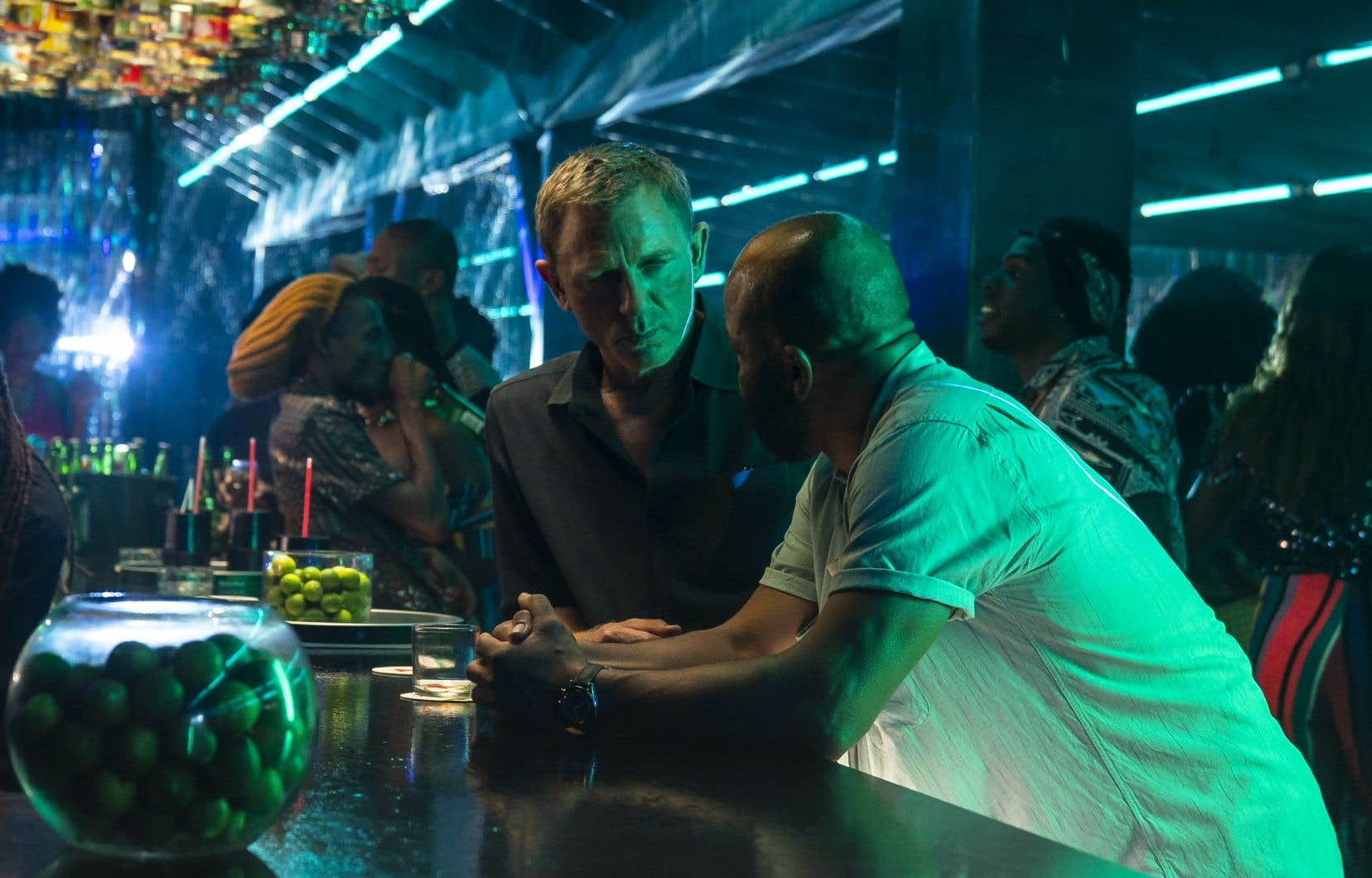 James Bond (Daniel Craig) et Felix Leiter (Jeffrey Wright) dans «No Time to Die», un cru anniversaire puisqu'il s'agit du 25e film «officiel» de la vénérable série. C'est également le plus long.