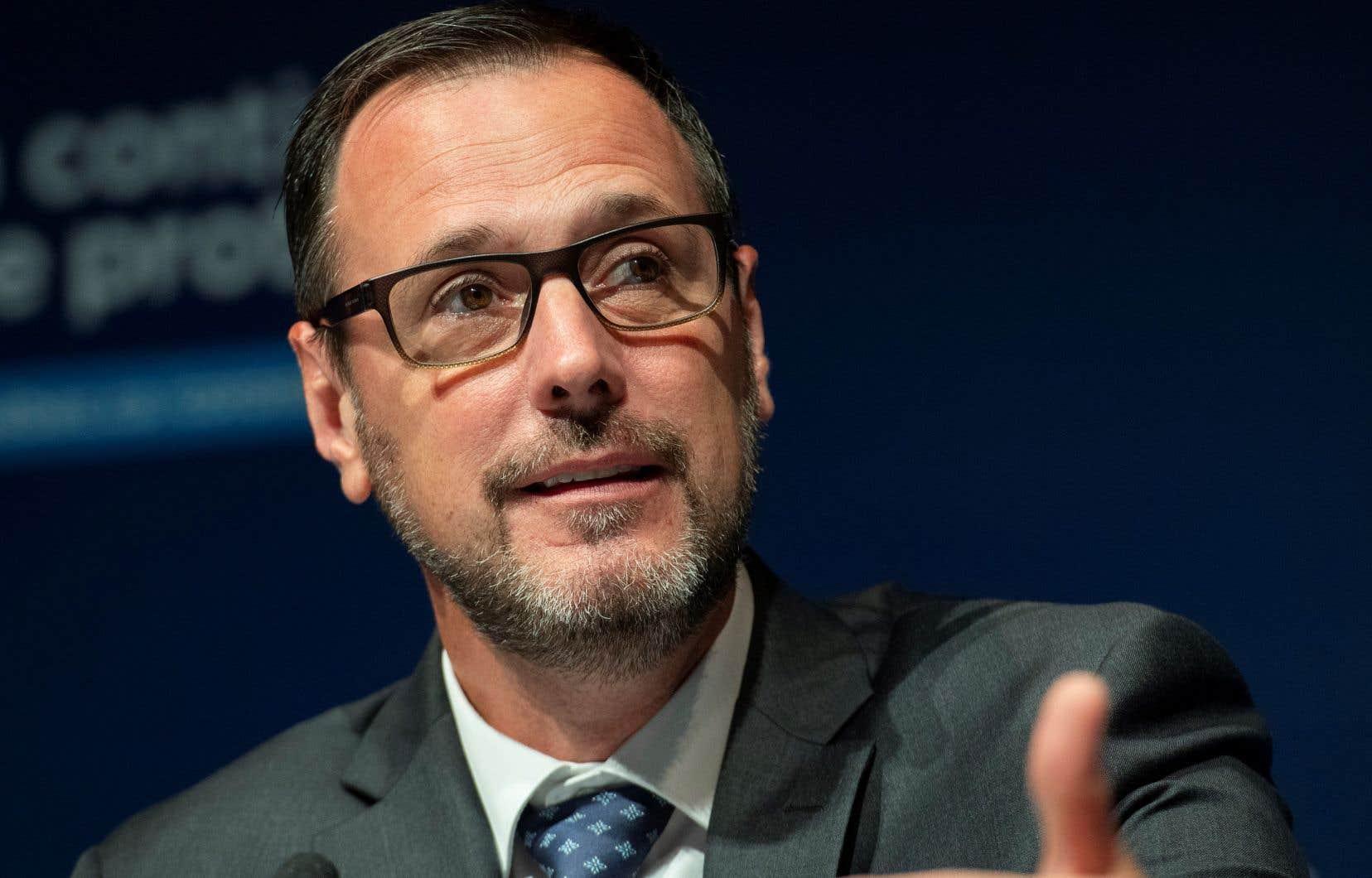 Le ministre de l'Éducation, Jean-François Roberge, souhaite retirer le Protecteur de l'élève des centres de services scolaires.