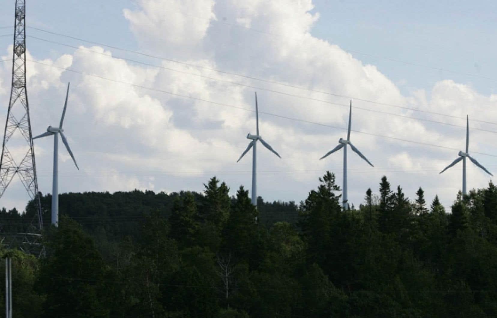 Trouver une nouvelle façon de construire et d'exploiter les éoliennes: tel est le projet de Coopérative Val-Éo. <br />