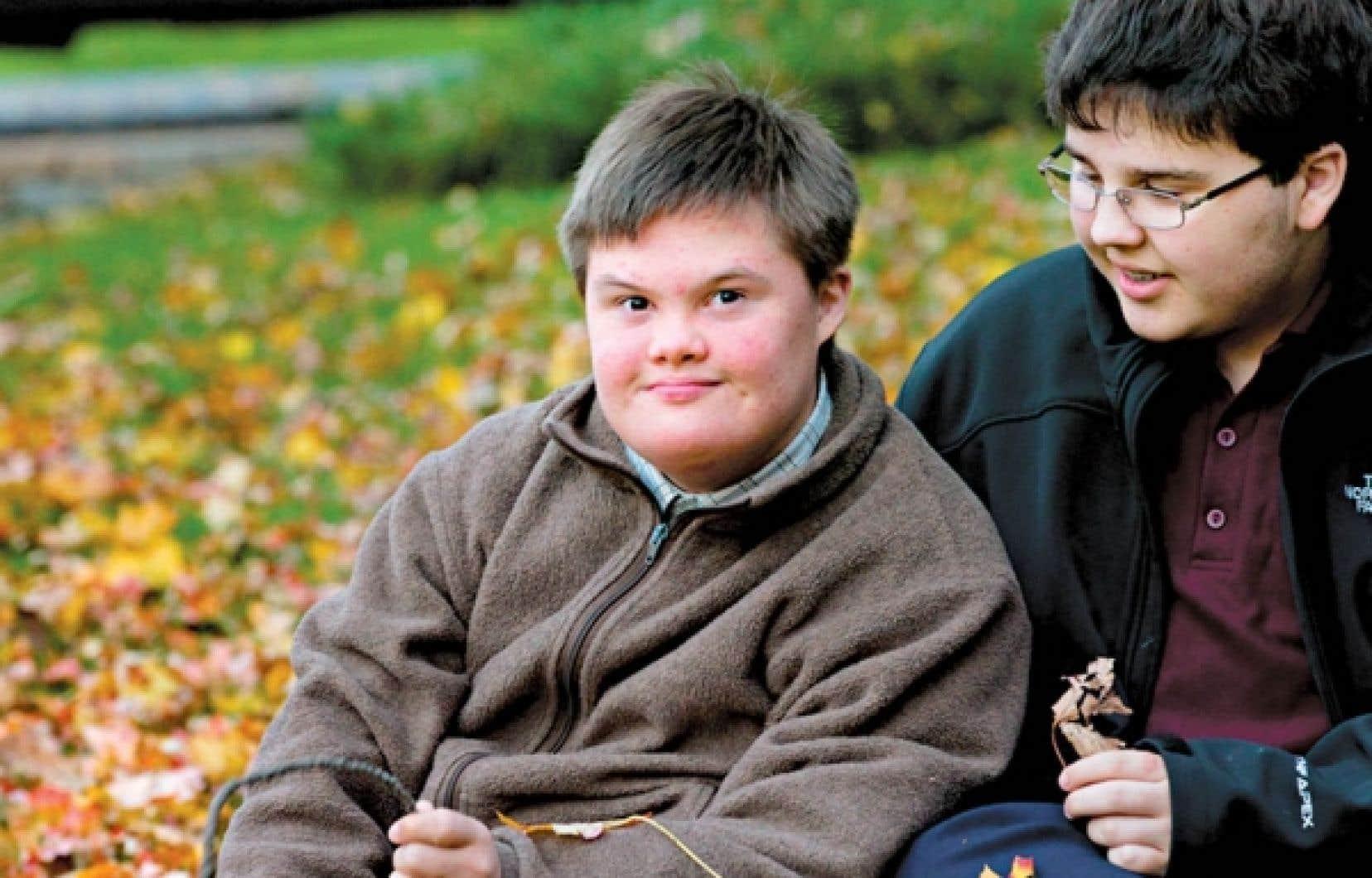Mathieu Fortin. Un enfant sur 770 naît avec une trisomie 21.<br />