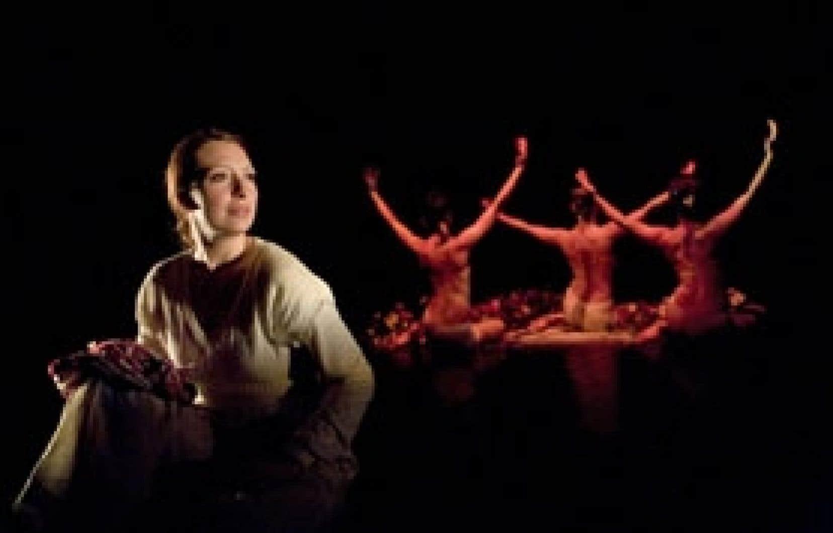 David Cannon Karine Ledoyen amorce avec sa plus récente production un tout nouveau cycle de création.