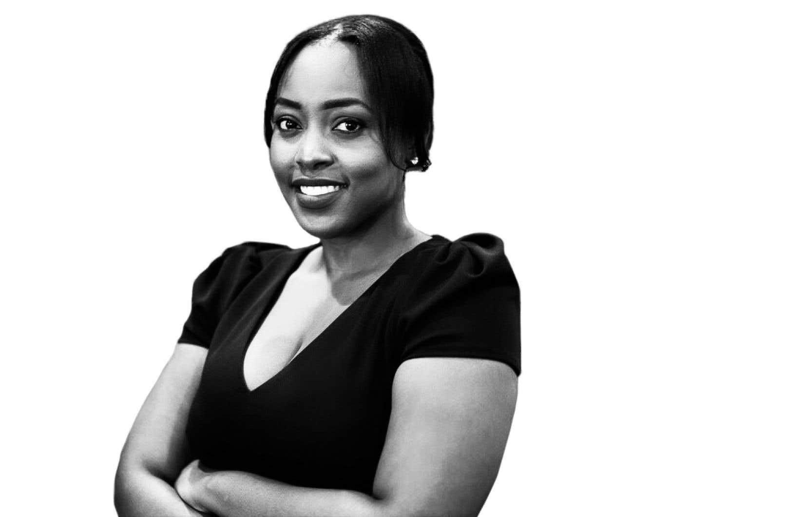 Arielle Kayabaga fait partie de plusieurs minorités à la fois, mais n'en fait pas toute son identité.