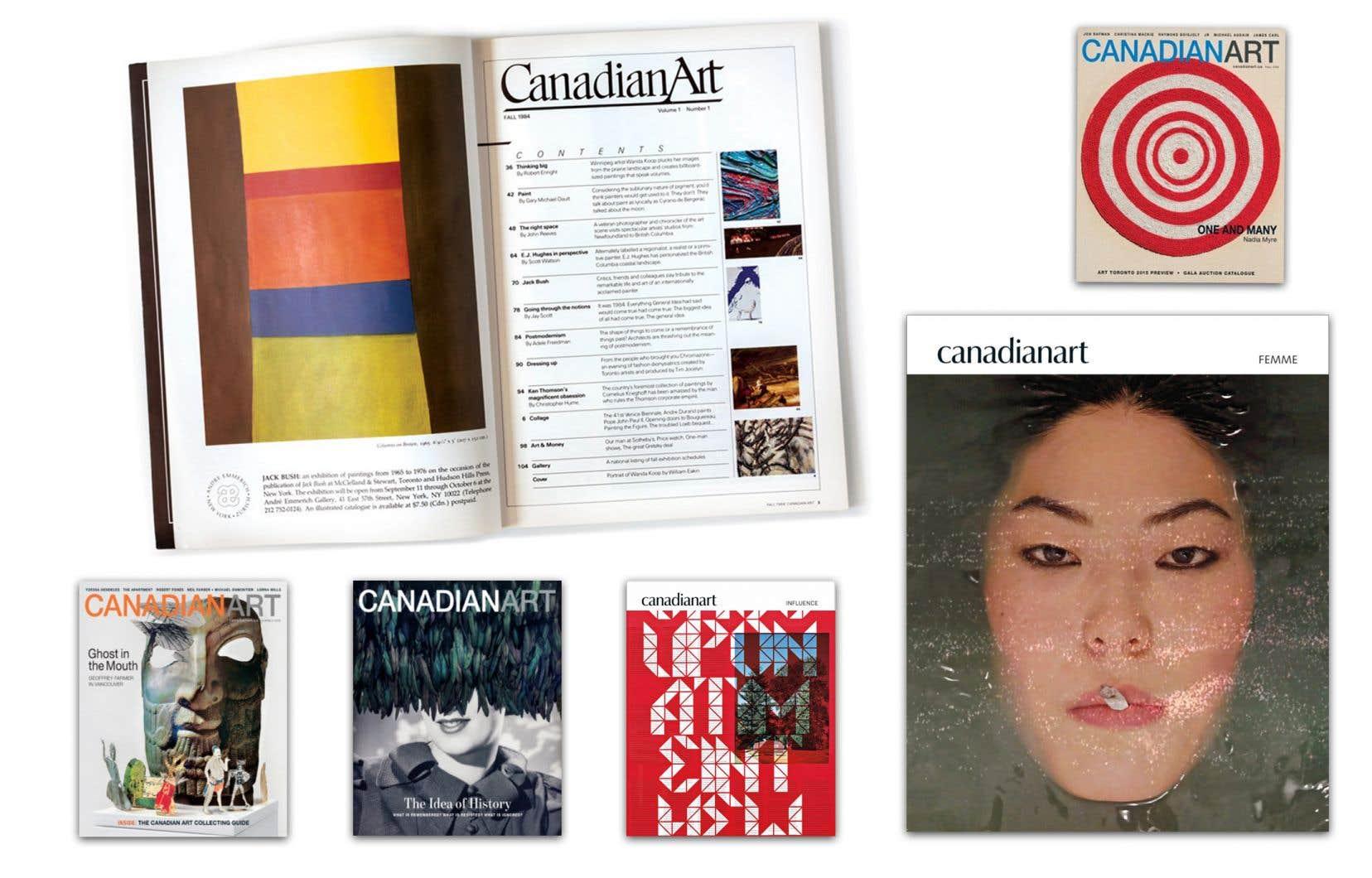 Couverture de l'édition d'été 2019 du magazine Canadian Art