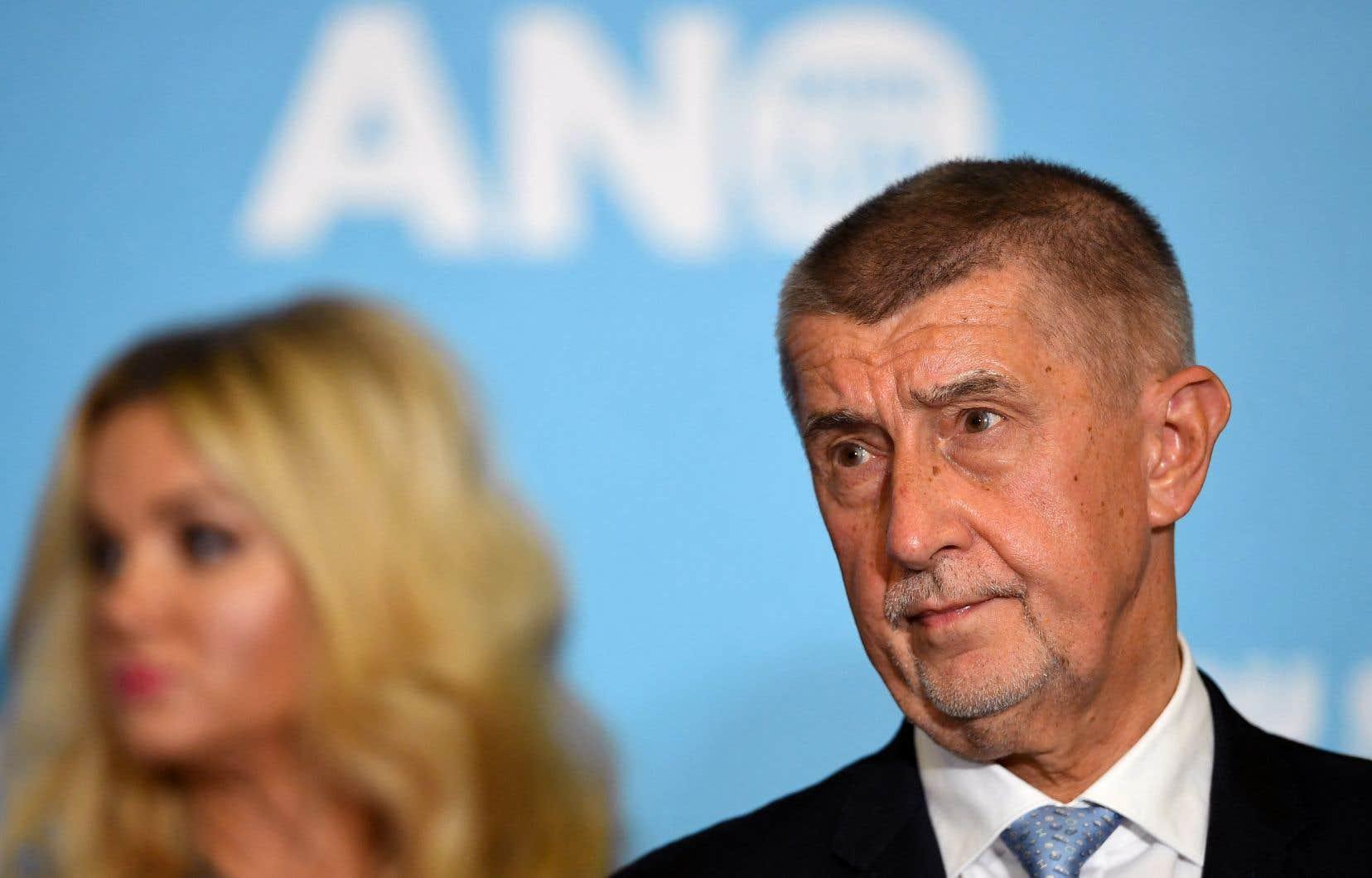 Le chef du mouvement ANO (Action des citoyens mécontents), Andrej Babis