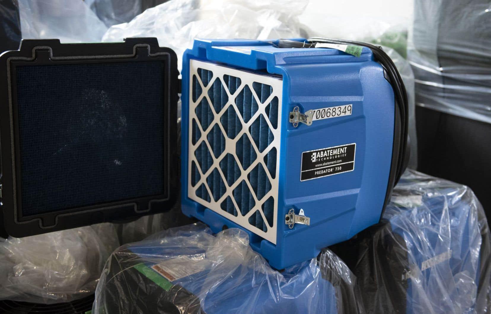 Une première étude effectuée en situation réelle suggère que des purificateurs d'air pourraient s'avérer utiles dans certains milieux hospitaliers.