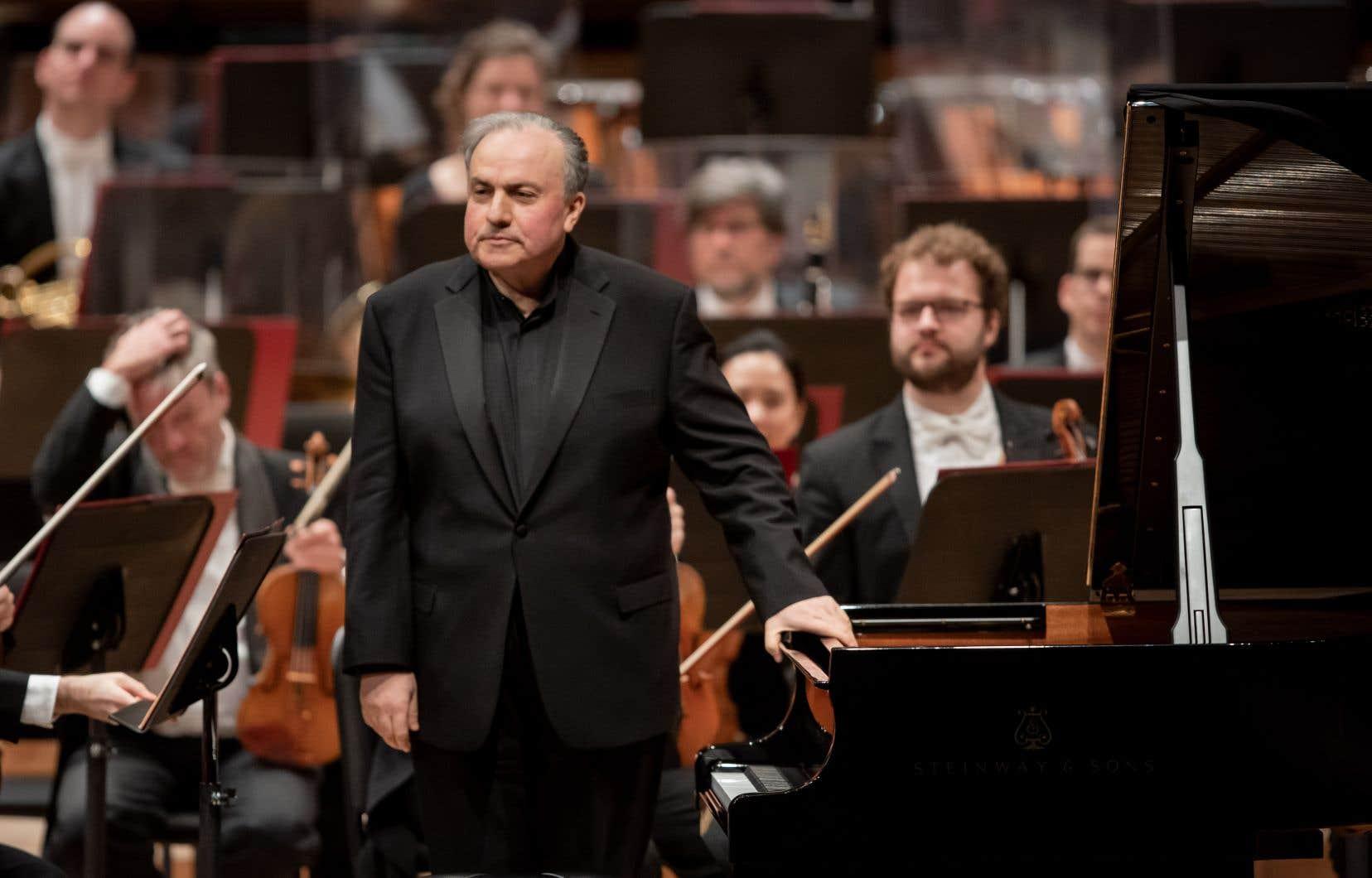 Yefim Bronfman en décembre 2019 à Montréal