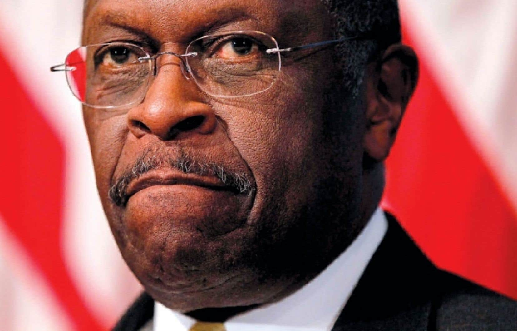 Herman Cain, candidat à l'investiture du Parti républicain pour la campagne à la présidence des États-Unis