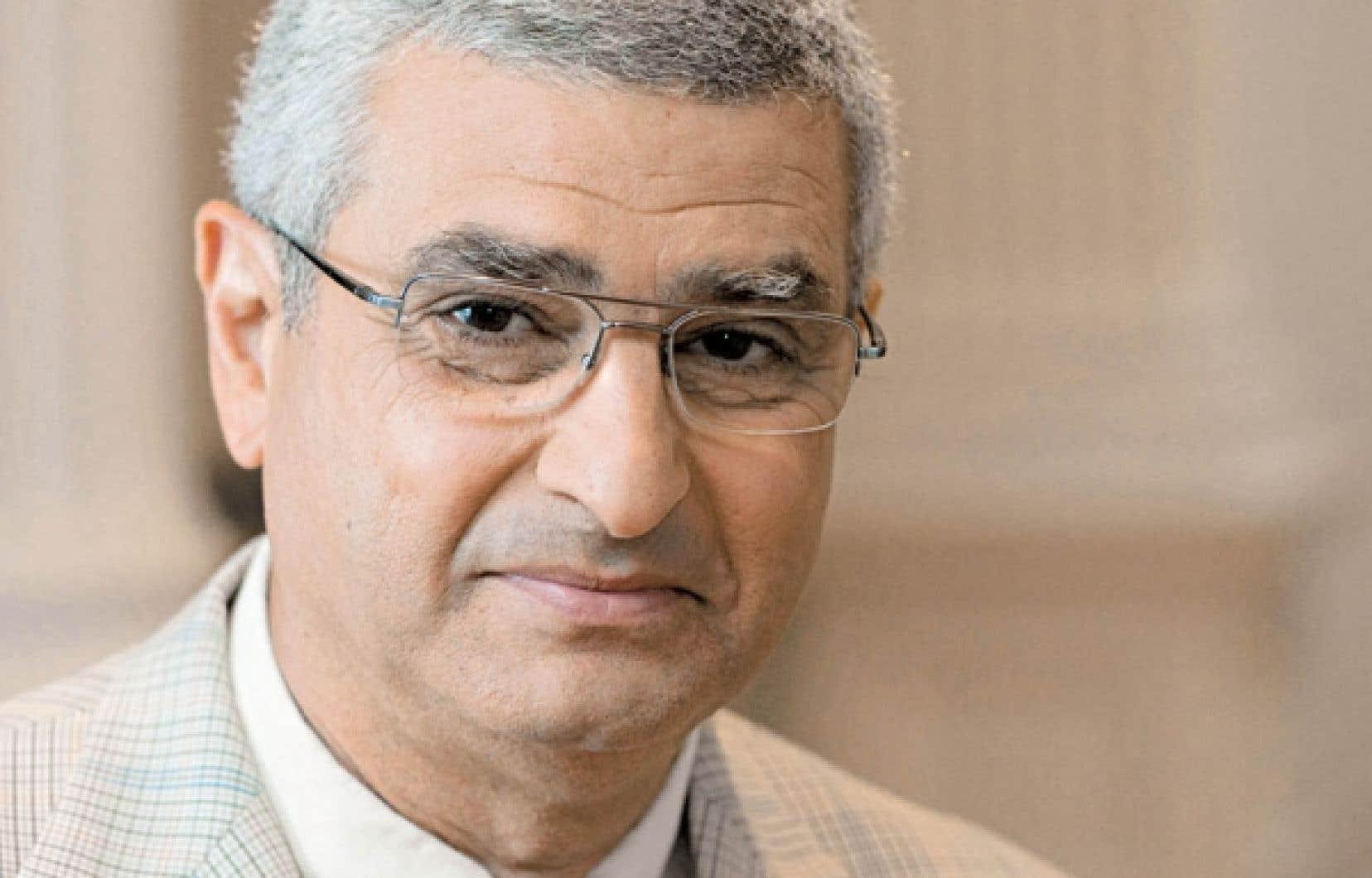Nabil Seidah, directeur du Laboratoire de biochimie neuroendocrinienne de l'Institut de recherches cliniques de Montréal<br />