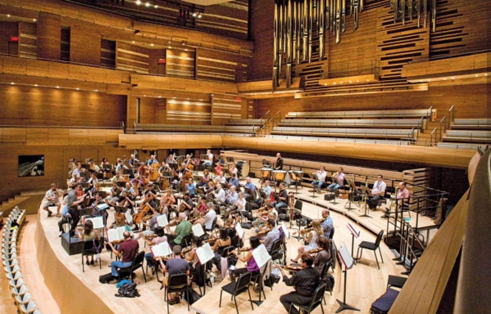 L&rsquo;Orchestre symphonique de Montr&eacute;al. <br />