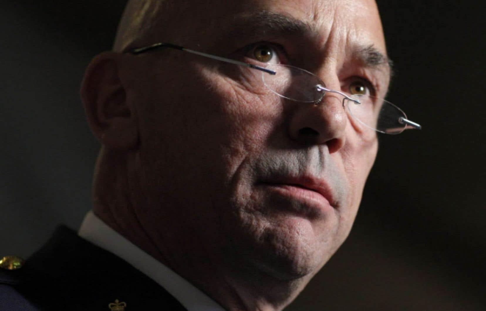 Robert Paulson a été nommé hier commissaire de la Gendarmerie royale du Canada.<br />