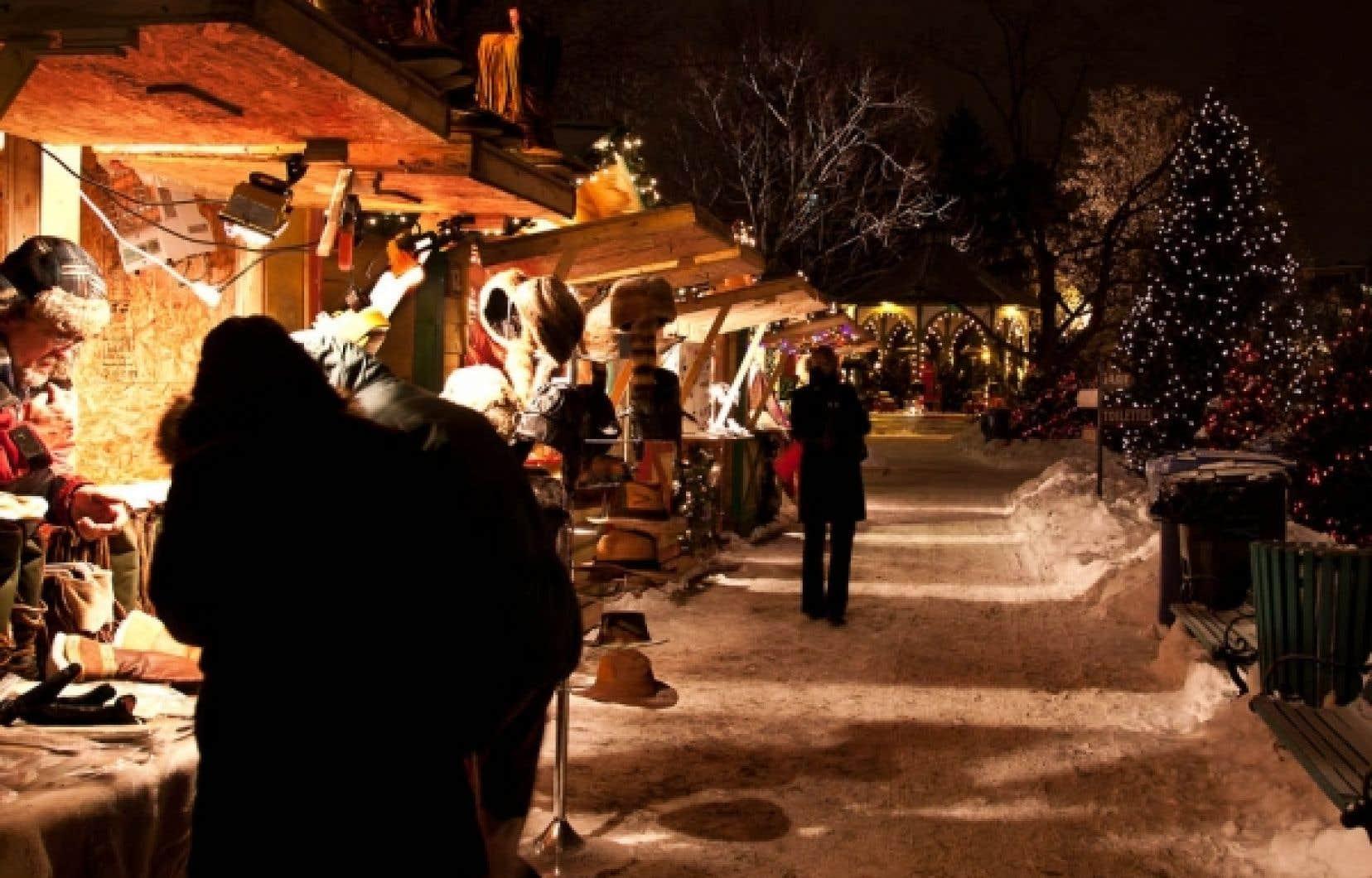 Le Marché de Noël, à Longueuil