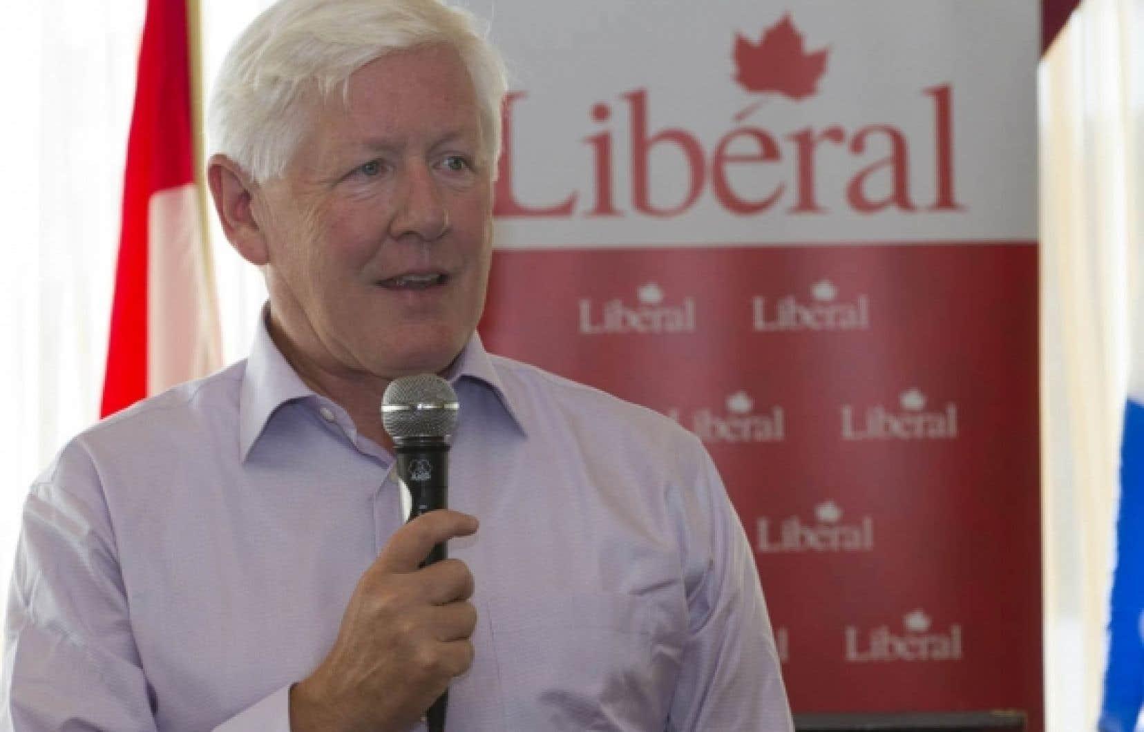 Le chef libéral intérimaire du Parti libéral du Canada, Bob Rae.
