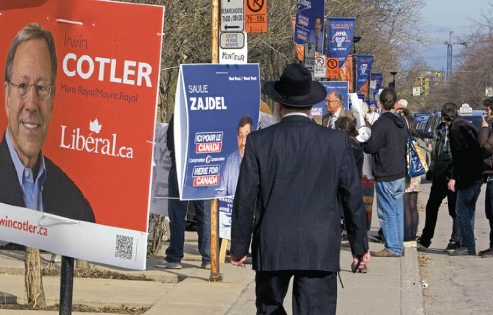 Irwin Cotler a remporté la circonscription Mont-Royal en mai dernier, devant le candidat conservateur Saulie Zajdel.<br />