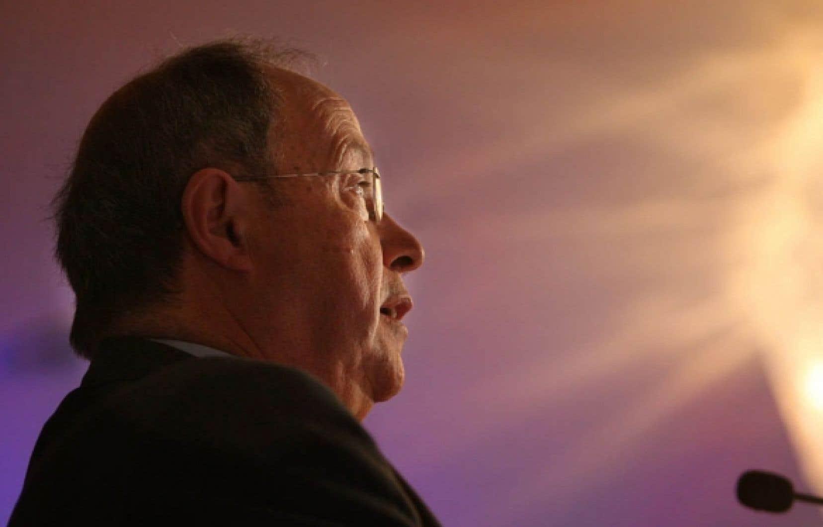 L&rsquo;ad&eacute;quiste Claude Garcia s&rsquo;oppose &agrave; la fusion de son parti avec la CAQ.<br />