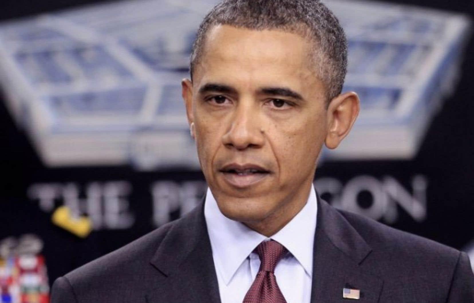 Barack Obama a déclaré que les États-Unis «tournaient la page» après avoir éliminé Oussama Ben Laden, retiré les troupes d'Irak et amorcé le retrait d'Afghanistan.