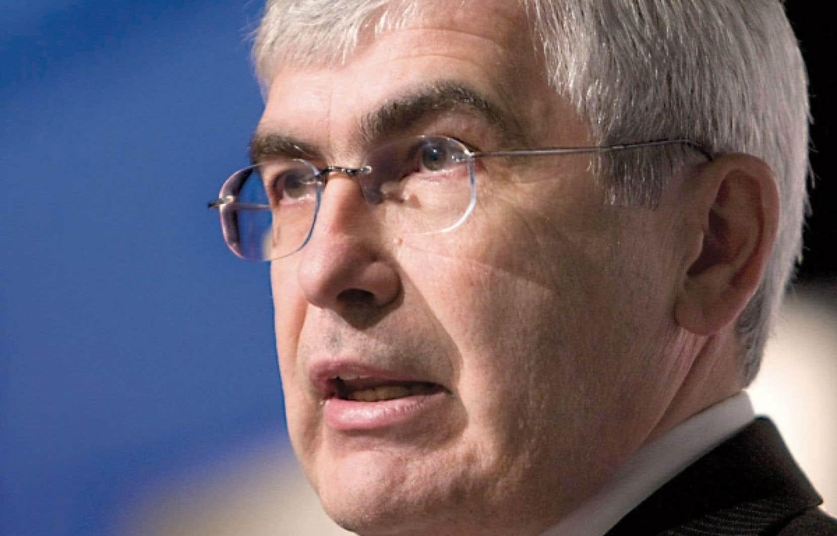 Le ministre des Ressources naturelles, Clément Gignac<br />