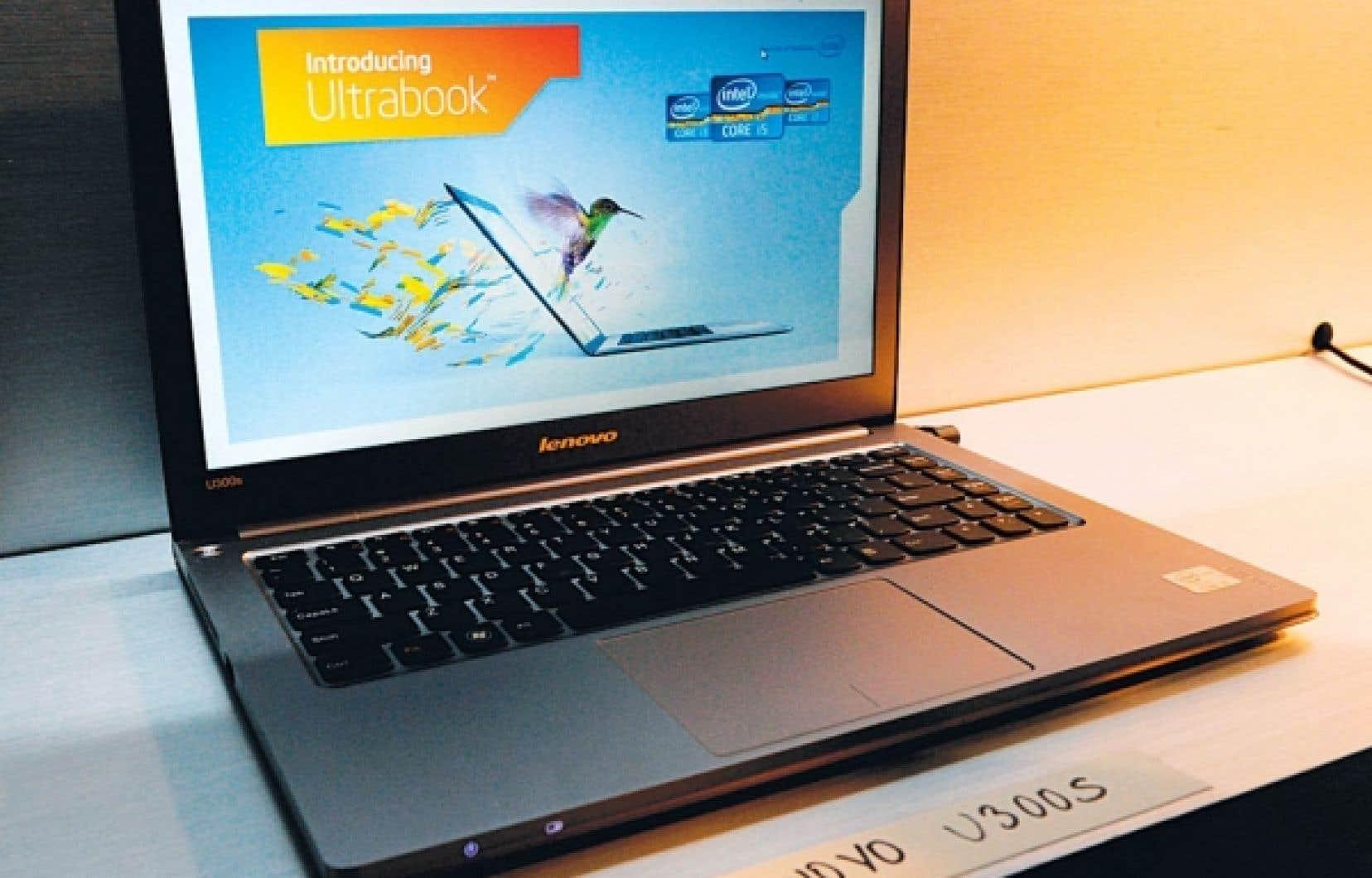 L'ultrabook Lenovo U300S d'Intel