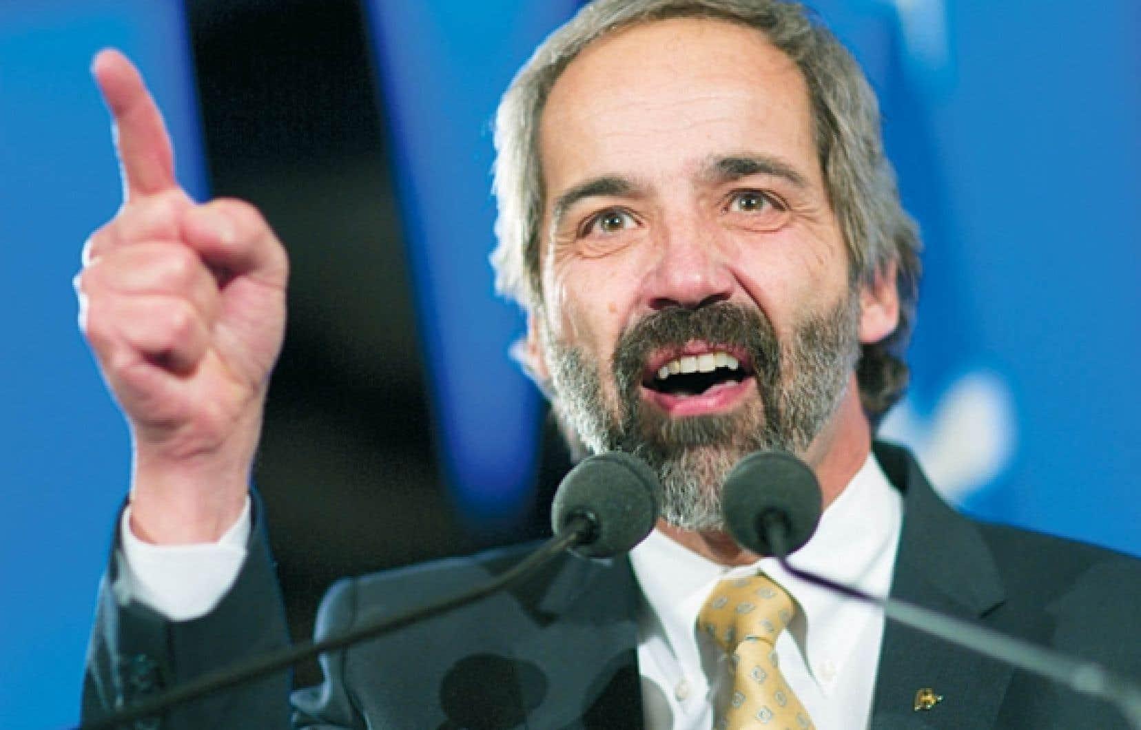 Daniel Paillé a été élu à la tête du Bloc québécois le 11 décembre dernier.<br />