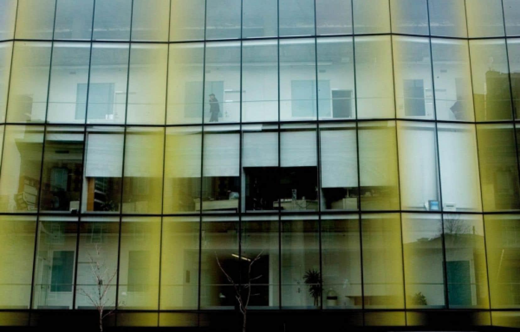 Les locaux de la TELUQ dans un &eacute;difice de l&rsquo;UQAM. L&rsquo;&eacute;tablissement, bas&eacute; &agrave; Qu&eacute;bec, recouvrera sa pleine autonomie au sein du r&eacute;seau UQ.<br />