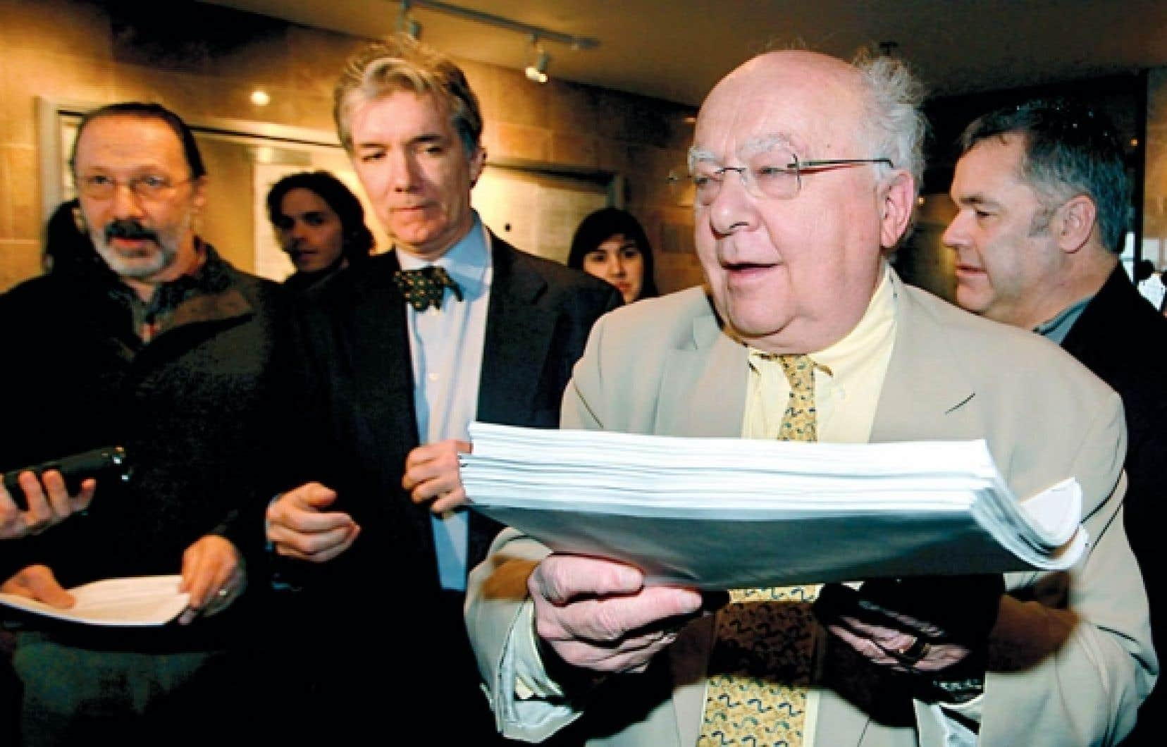 C&rsquo;est l&rsquo;avocat Julius Grey qui repr&eacute;sentera Daniel Turp dans cette cause.<br />