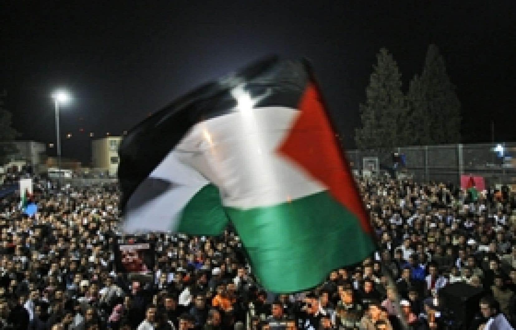 Des arabes israéliens ont manifesté hier à Umm al-Fahm.