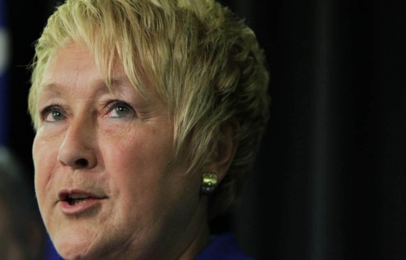 Pauline Marois a soutenu qu'avec son annonce d'hier, elle prenait «le parti de la classe moyenne et des familles québécoises».<br />