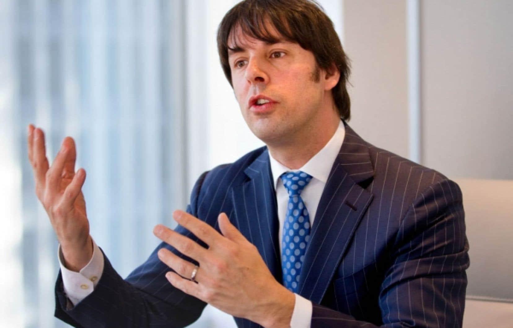 La stratégie du président et chef de la direction de Sourcevolution, Yves Perron, est d'abord de faire une percée sur les marchés québécois et canadien.<br />