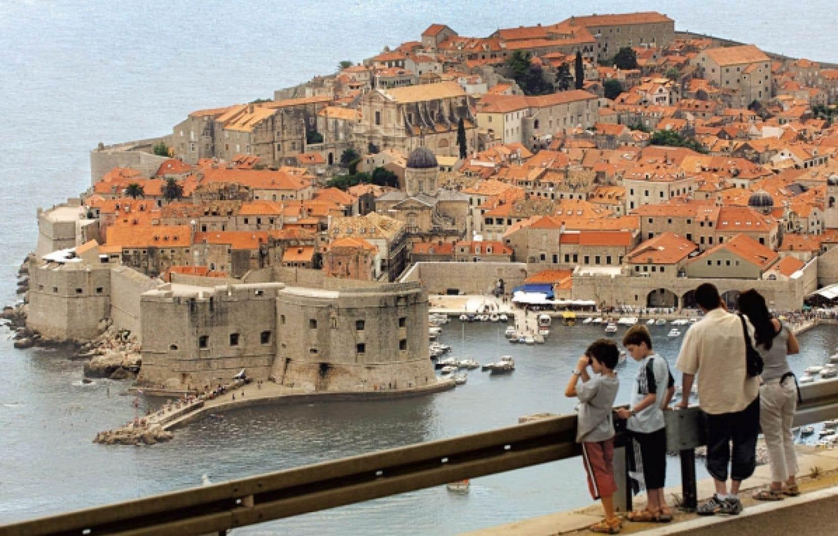 Dubrovnik, la perle de l&rsquo;Adriatique, en Dalmatie.<br />