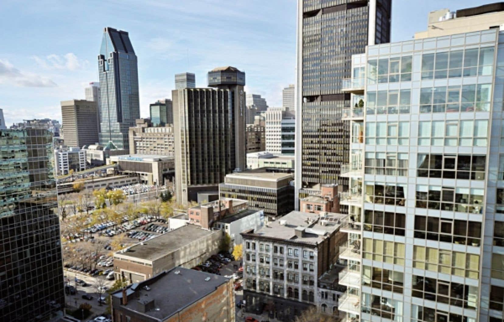 Les condos Saint M se situent à la croisée du Vieux-Montréal et du centre-ville.<br />