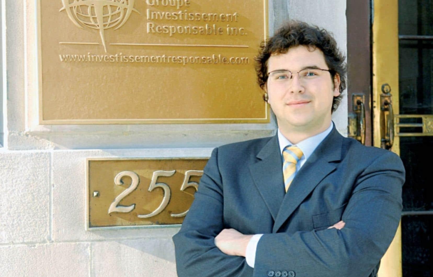 Olivier Gamache, président-directeur général du GIR<br />