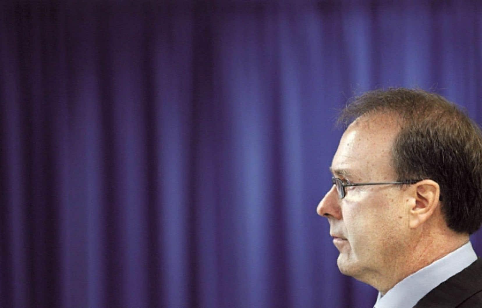 L'avocat Marc Bellemare a récemment reproché au Barreau du Québec de se comporter comme un parti politque.<br />