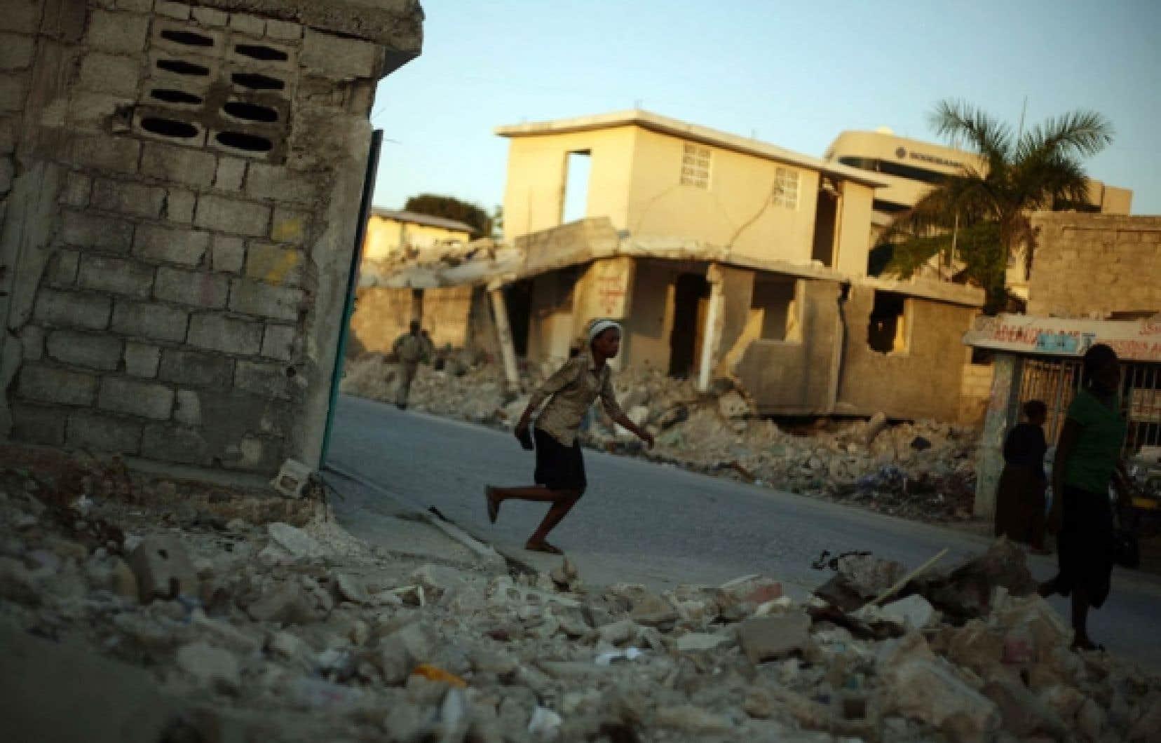 L'ACDI a invité Développement et Paix à se concentrer sur sept pays, dont Haïti, qui peine toujours à se relever du séisme de janvier 2010.