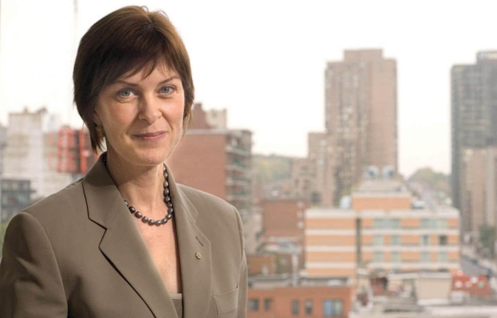 Heather Munroe-Blum: «Les Québécois valorisent l'équité et la justice sociale. Or, il n'est pas équitable de puiser à même les impôts de familles à faible revenu pour subventionner la formation des étudiants les plus nantis. Il n'est pas équitable non plus que les étudiants québécois paient aujourd'hui beaucoup moins qu'à la fin des années 1960 pour leur formation universitaire.»