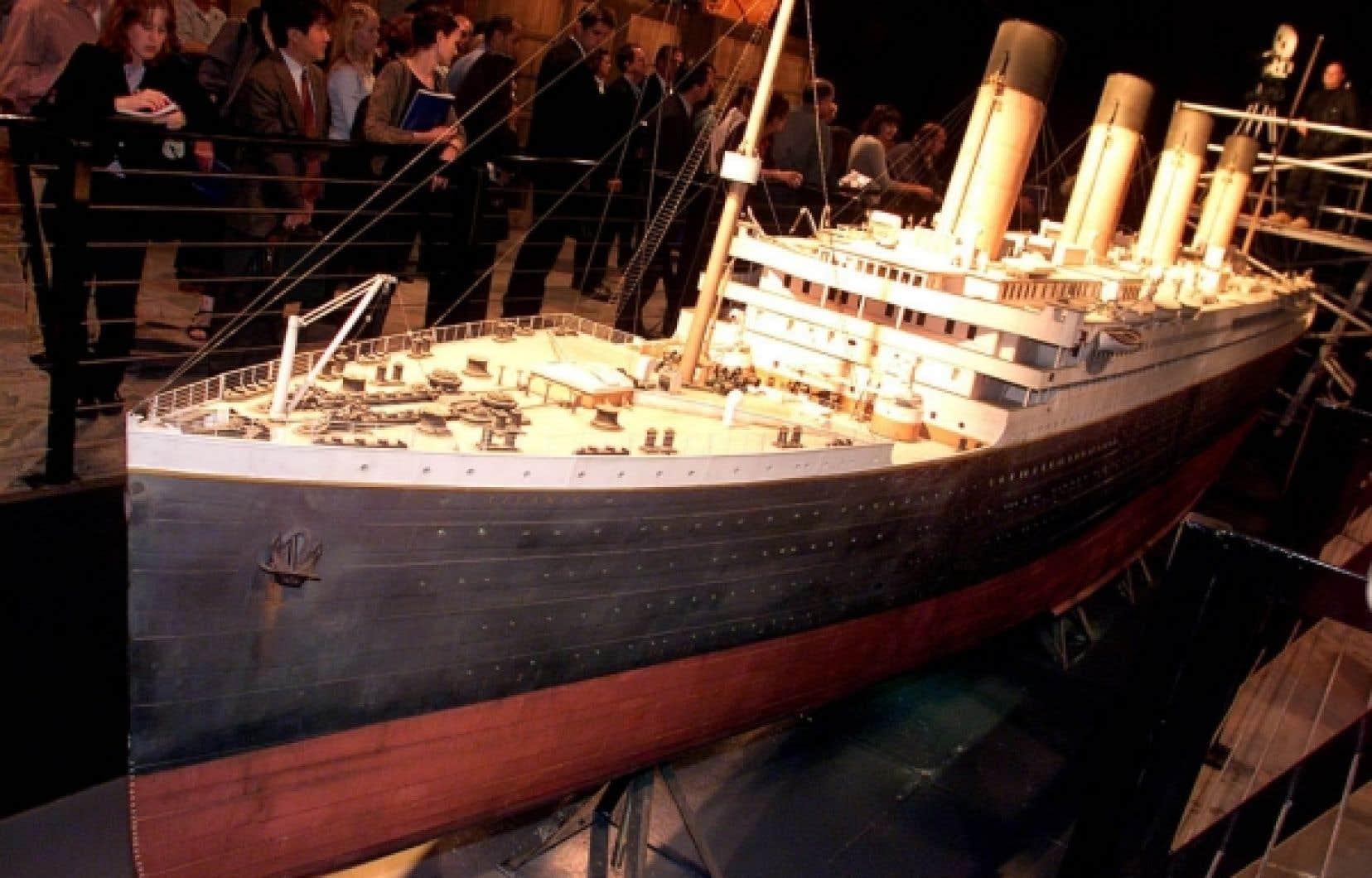 Le plus gros modèle réduit du Titanic mesurait 13 mètres de long et avait été conçu pour ressembler à l'original jusque dans ses moindres détails.